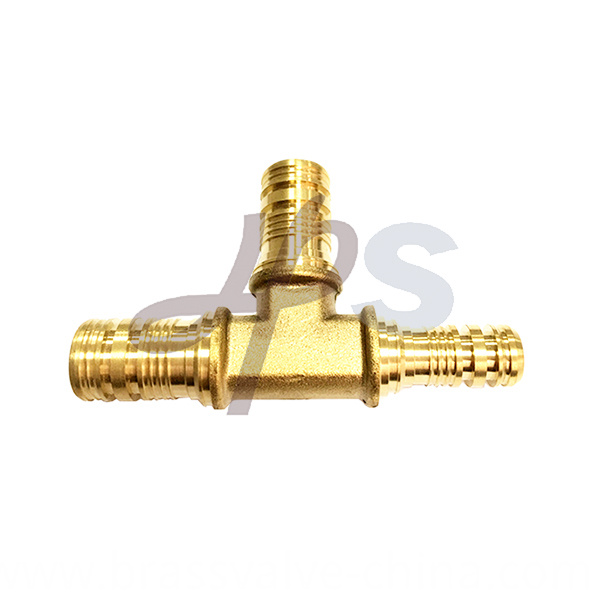 Brass Pex Tee Fitting He845