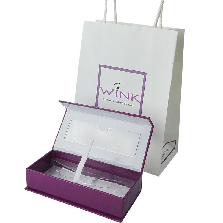eyelashes box and bag