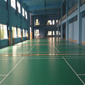 PVC Sports flooring for Badminton Court