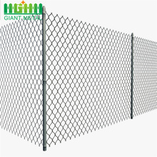 Galvanized Diamond Wire Mesh Used Chain Link Fence