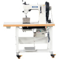 Double Needle Triple Feed Post Bed Thick Thread Decorative Seaming Upholstery Sewing Machine