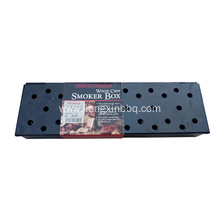 Black Painting Wood Chip Smoker Box