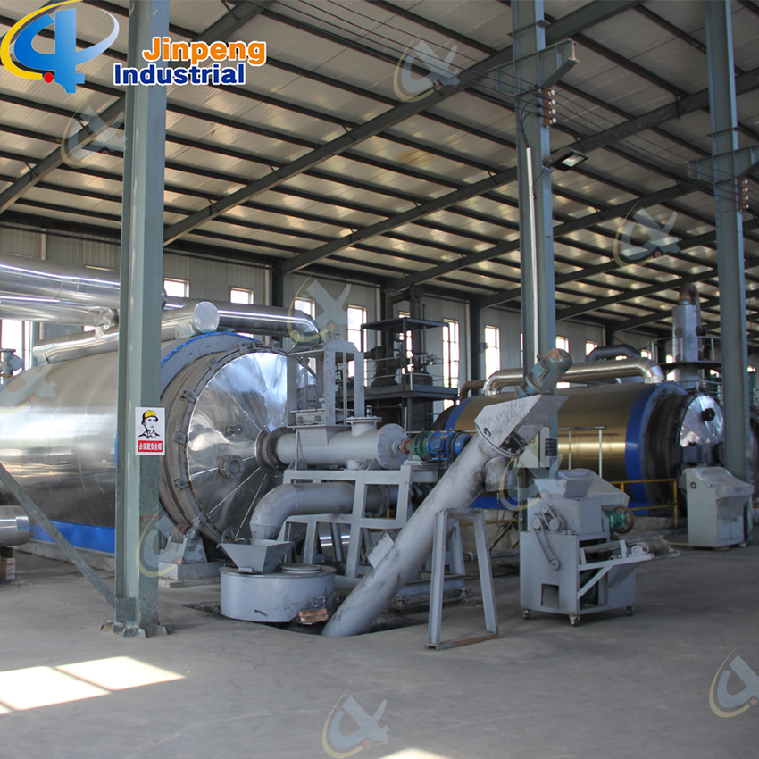 msw Pyrolysis Plant Oil System