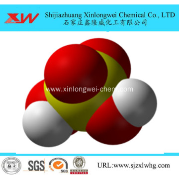 strong acid Sulfuric acid