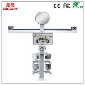 3D Wheel Alignment with Tracking Function