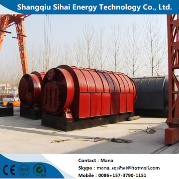 Smallest Capacity Pyrolysis Plant with Used Rubber