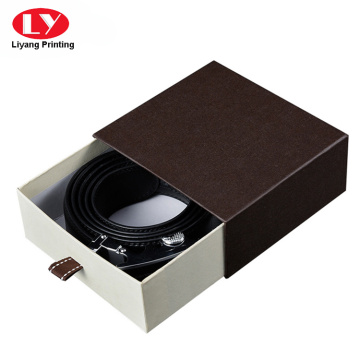 Fashional kamisadya nga karton nga drawer belt box