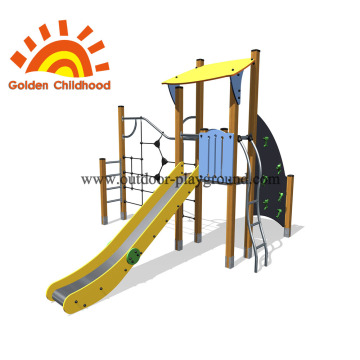 Climbing Balance Outdoor Slide Playground Equipment For Children