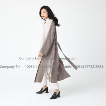 Long Pug Lady Cashmere Coat