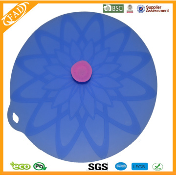Food Grade Silicone Suction Cover Lids For Pan