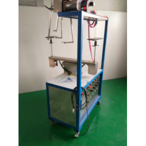 small automatic spray painting line