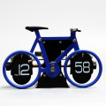 Bicycle flip clock for table decoration