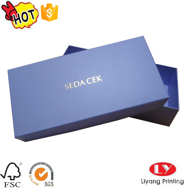 Cardboard packaging paper gift box with lid