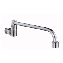 2019 long neck 3 way wall mounted sink water kitchen faucet