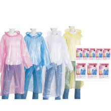 High Quality for PE Raincoat Fashion Sales Disposable Women Waterproof Raincoat export to Marshall Islands Exporter