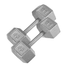 Best Quality for Cast Iron Hex Dumbbell 45LB Cast Iron Hex Dumbbell export to Tanzania Supplier