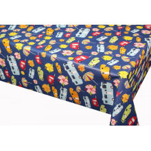 Pvc Printed fitted table covers Square Table Runner