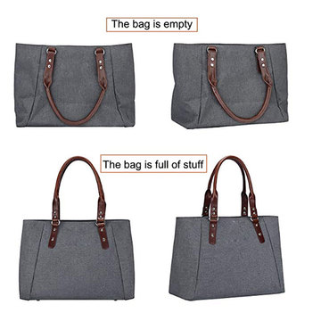 Blank Reusable Promotion Luxury Tote Hand  Bag