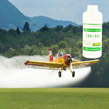 Spray agrícola mitigación de deriva surfactante