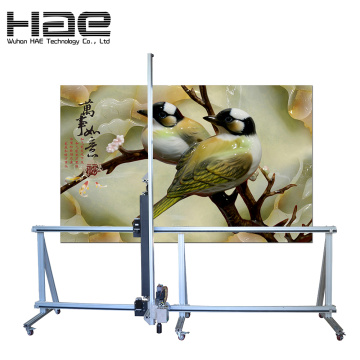 Vertical House Decoration Artistic Wall Inkjet Printer