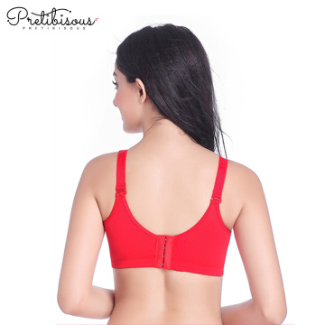 Sex wireless push up molded padded bra