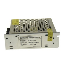 12V 5A 60W Mental Case Power Supply