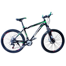 Aluminum Alloy 26'' 21 Speed Colorful Mountain Bike MTB
