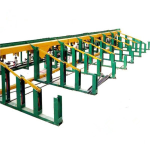 CNC Steel Rebar Shearing Cutting Line Machine