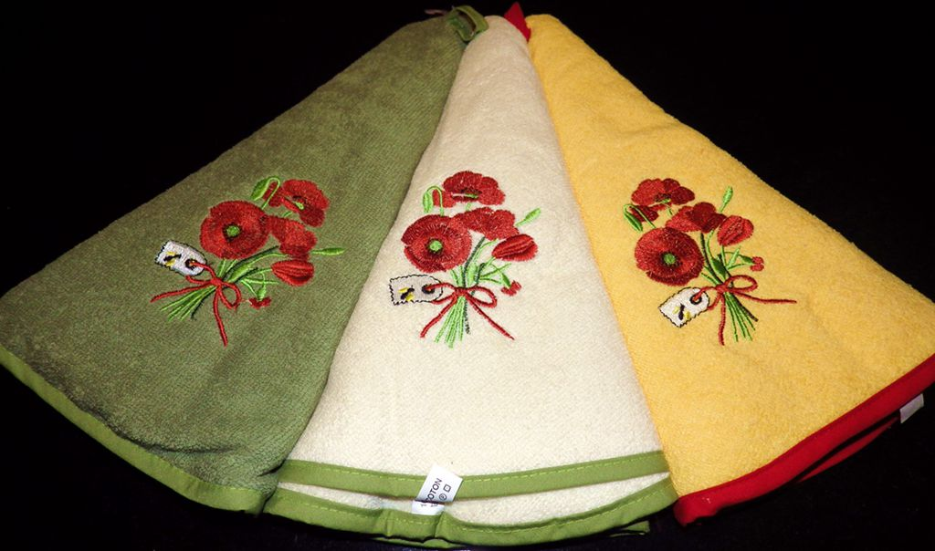 Embroidery Cotton Towel