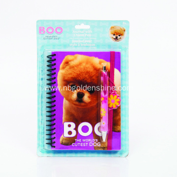 Journal Notebook Diary With Charm Pen