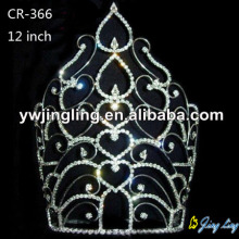 New design large pageant crowns CR-366