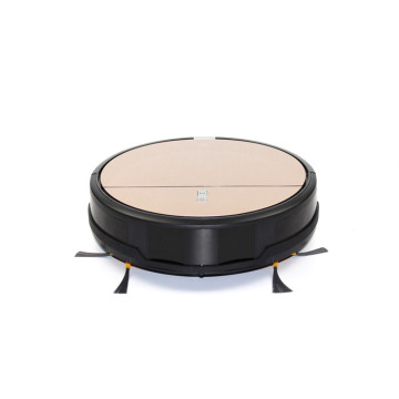 robotic vacuum with optional scheduled cleaning