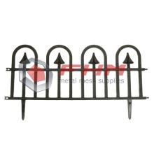 Garden Fencing Rustproof Animal Barrier Black Border