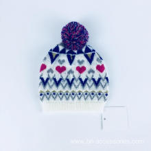 Winter child knit hat custom child knit hat cotton child knit hat