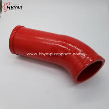 Sany Concrete Pump Spare Parts Casting Long Elbow