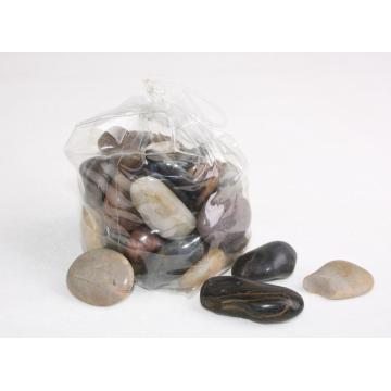 Polished Natural Tiger Eyes River Rocks Stone