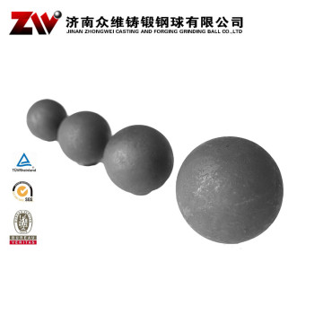 Forged Ball Mill Grinding Media For Cement 110mm
