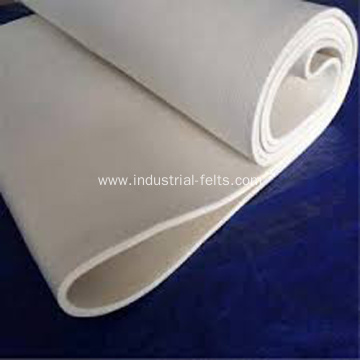 White Color Sanforizing Needle Felt For Sanforizing Machine