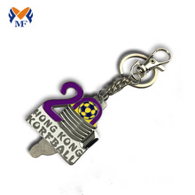 Good Quality for Custom Metal Keychains Metal custom keychain with name tags supply to Hungary Suppliers
