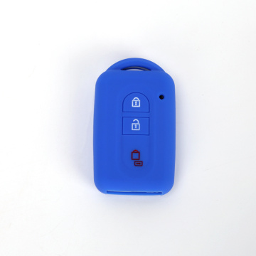 Silicone remote flip key case For Nissan