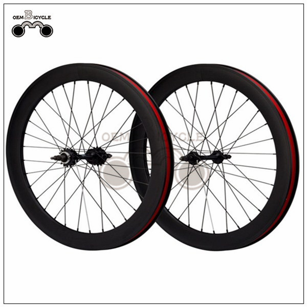 700C Double-walled Aluminum Bike Wheelset1