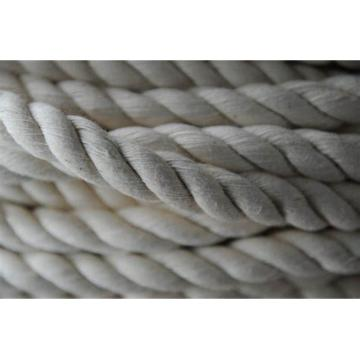 3 Strand 10mm Natural Color Handmade 100% Cotton Rope