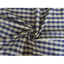 Plain Cotton Check shirting Fabric