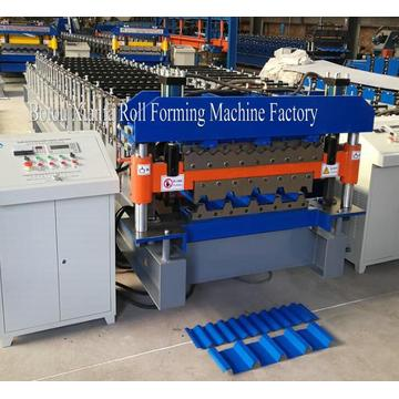 Double Layer Roofing Sheet Roll Former Machine