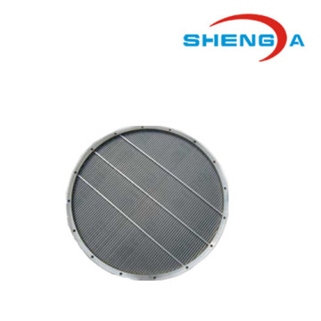 Stainless Steel Wedge Wire Screen Round Plate