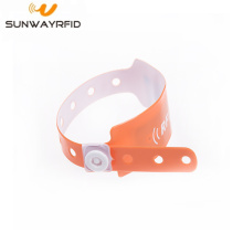 Best quality and factory for Pvc Disposable RFID Wristbands Flexible Wateprooof Disposable NFC RFID Wristband export to Cape Verde Factories
