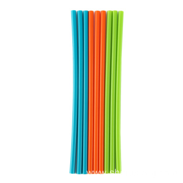 hot sales Reusable Flexible Silicone Straws Drinking Straws