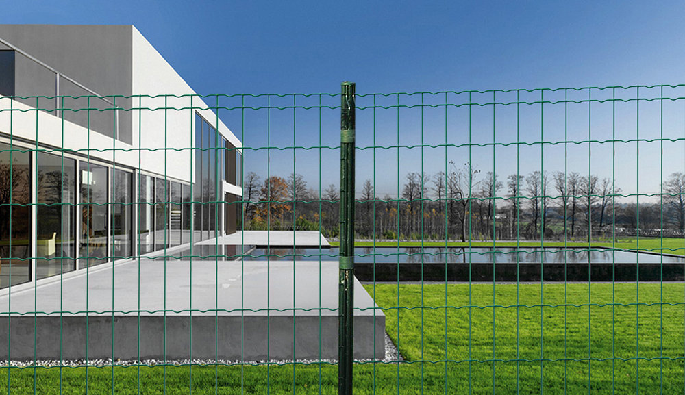 PVC Coated Wave Fence