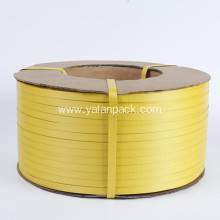 China for Pp Strapping Hot sales yellow color plastic bundle packing strap supply to Saint Lucia Importers