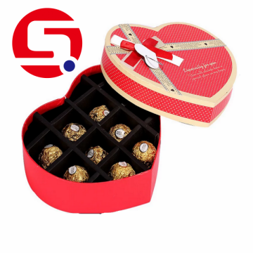 Factory Price Wholesale Heart-Shaped Cardboard Boxes